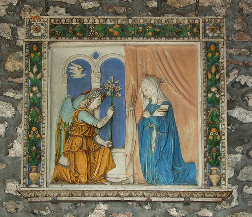 Relief Of The Annunciation