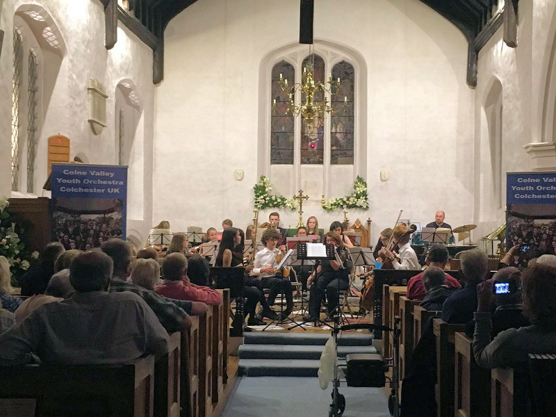 Colne Valley Youth Orchestra – Saturday 3rd September 2016